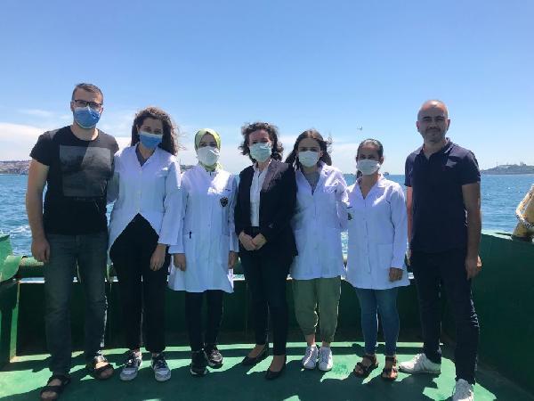 Akademisyenler araştırma gemiyle açıldı, İstanbul Boğazı'nda plastik tehlikesini ortaya çıkardı