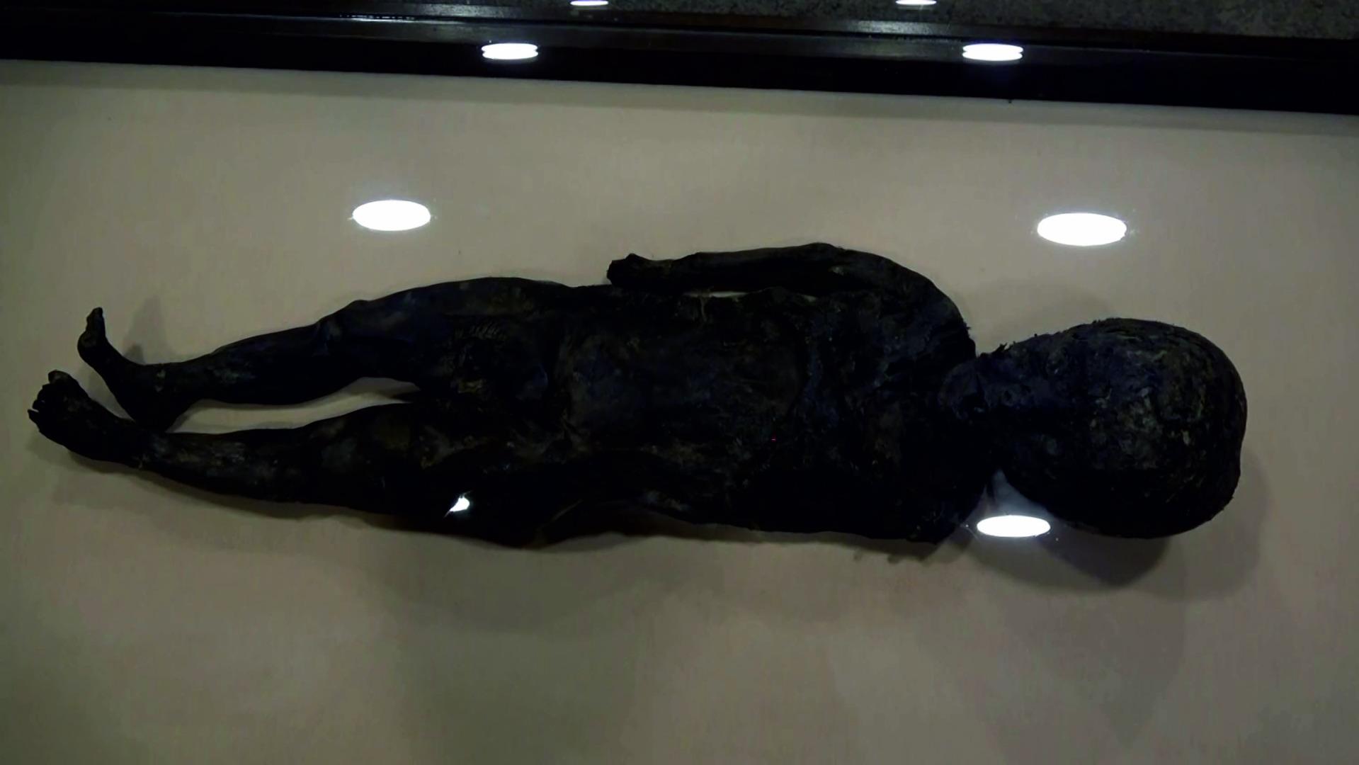 Amasya Müzesi'ndeki mumyalara özel muhafaza
