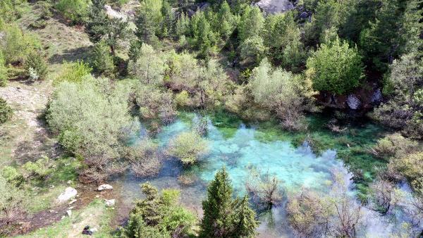 Heyelan sonrası oluşan Turkuaz Göl, turizme kazandırılacak