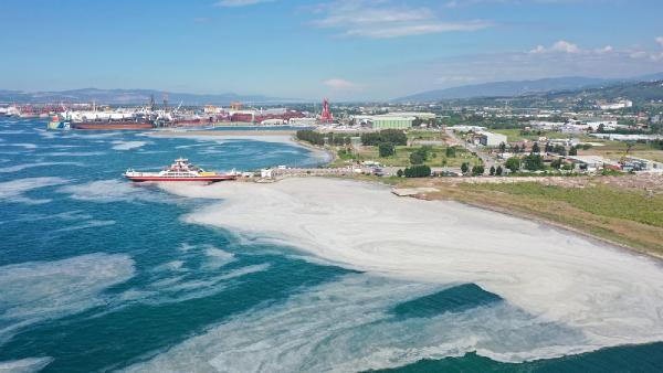 Yalova'da deniz yeniden müsilajla kaplandı