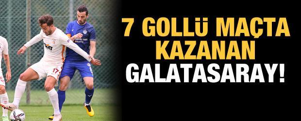 7 gollü maçta kazanan Galatasaray!