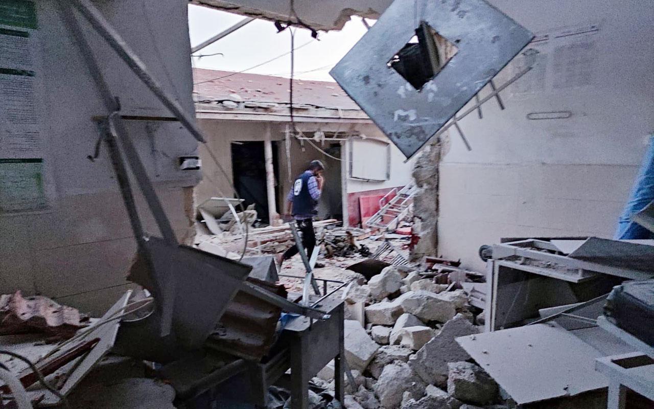 Afrin'de hastaneye saldırı: 13 ölü, 27 yaralı!