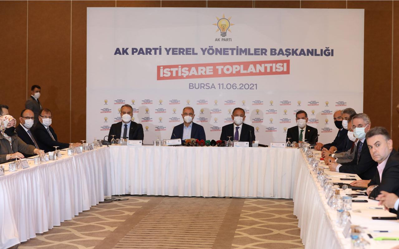 AK Parti Bursa'da istişare yaptı