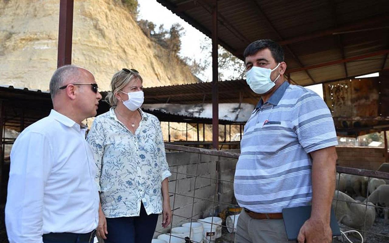 AK Parti Bursa'dan afet bölgesine destek ziyareti