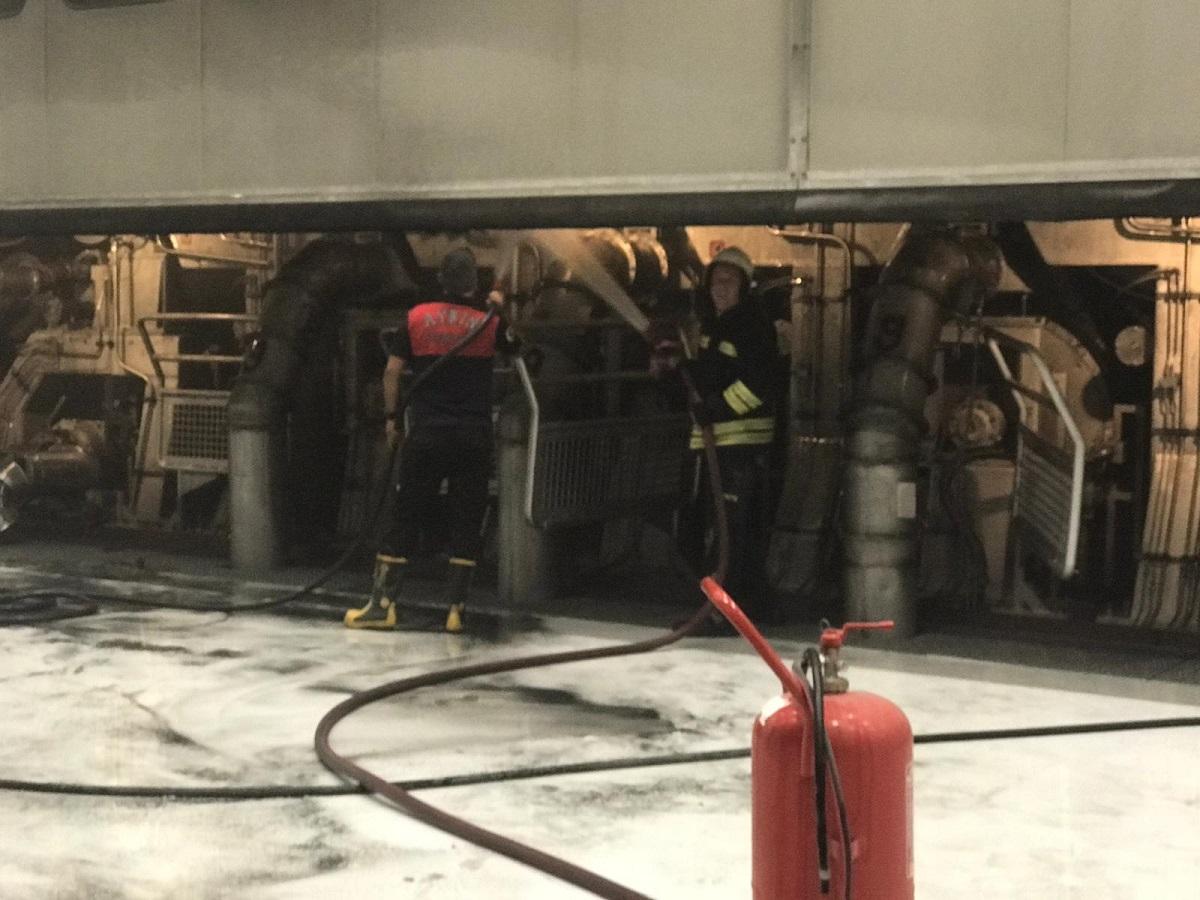 Aydın Söke Kipaş Kağıt Fabrikası'nda yangın