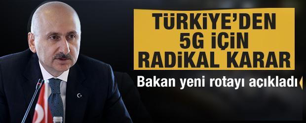 Bakan Karaismailoğlu: 5G teknolojisine yerli ve milli imkanlarla geçmeye hazırlanıyoruz