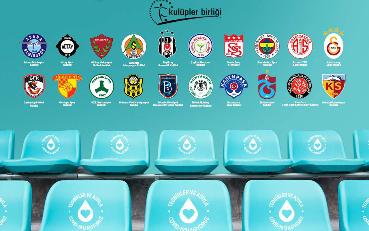 Bakan Koca'dan futbol kulüplerine aşı teşekkürü