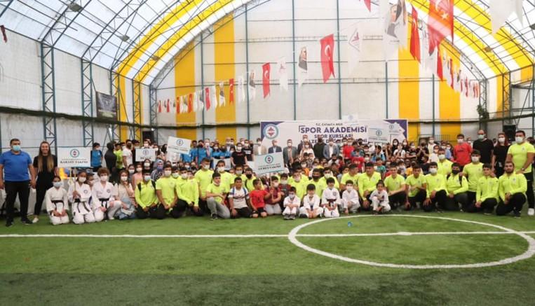 Başkan Mesut Üner'den spora ve sporcuya destek