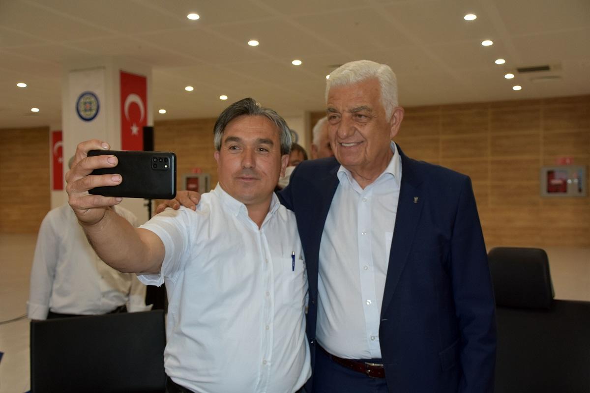 Başkan Osman Gürün Seydikemer muhtarları ile buluştu