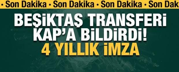 Beşiktaş Rosier'i KAP'a bildirdi! 4 yıllık imza