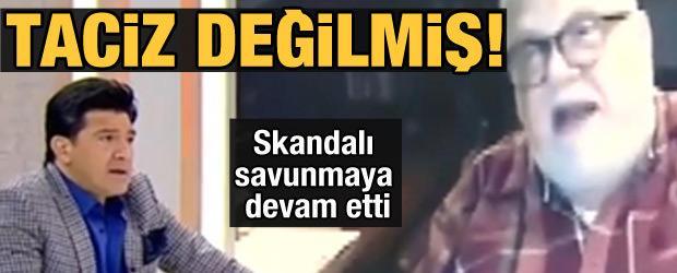 Celal Şengör skandalı savunmaya devam etti: Taciz değilmiş