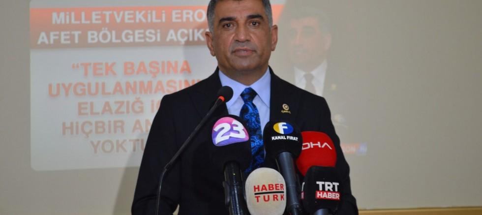 CHP Elazığ Milletvekili Erol, selin vurduğu Rize'de incelemelerde bulundu