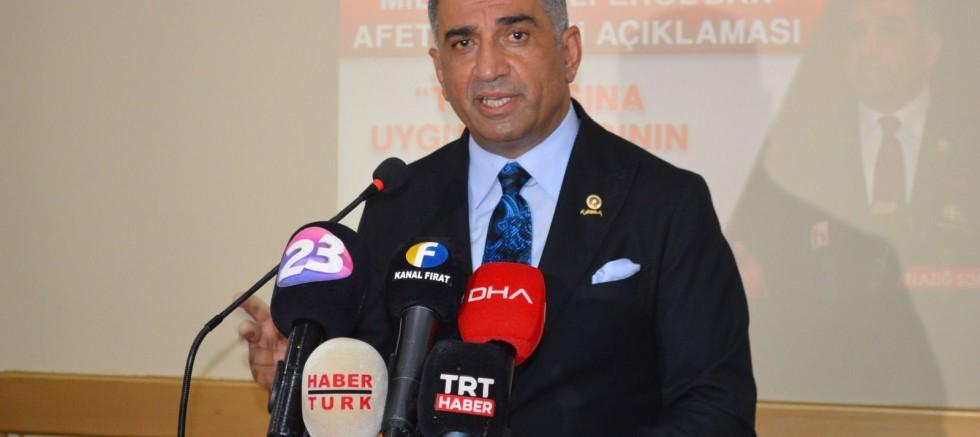 CHP Elazığ Milletvekili Gürsel Erol,Cumhurbaşkanı Erdoğan'a seslendi