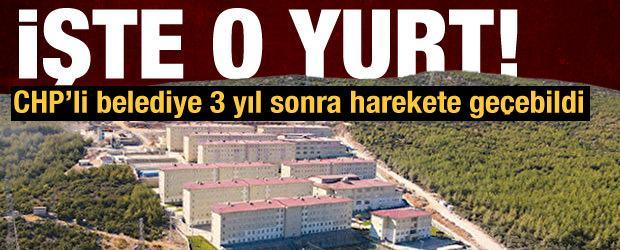 CHP'li belediyenin 3 yıldır atık su problemini çözemediği yurt!