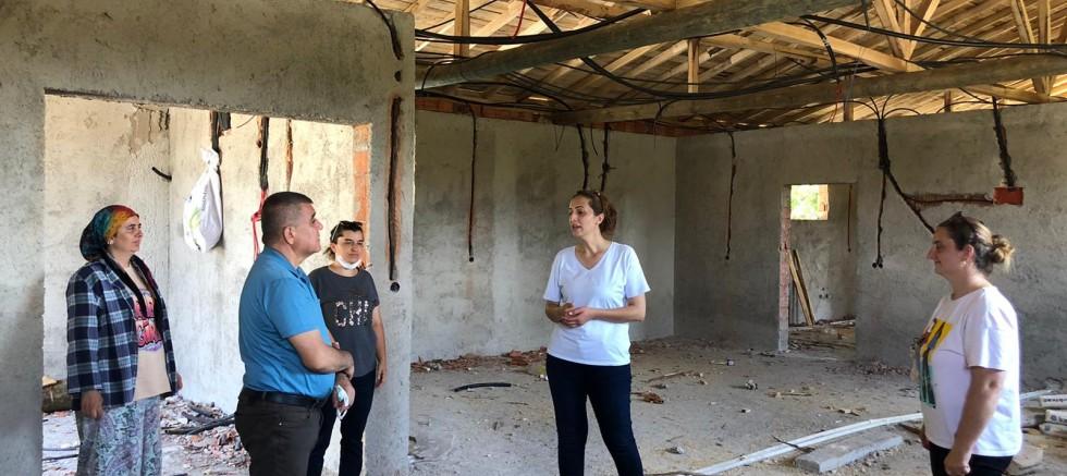 CHP'li Ramis Topal'dan Sahlep kadın kooperatifi'ne Ziyaret