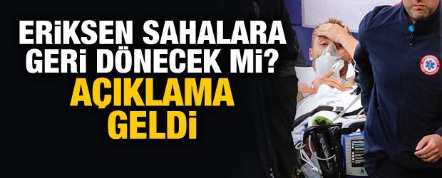 Christian Eriksen sahalara dönecek mi?