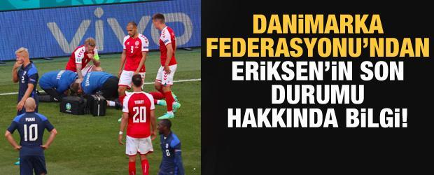 Danimarka Futbol Federasyonu: Eriksen uyandı