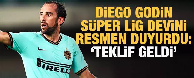 Diego Godin: Türkiye'den Beşiktaş'ın teklifi olmuş
