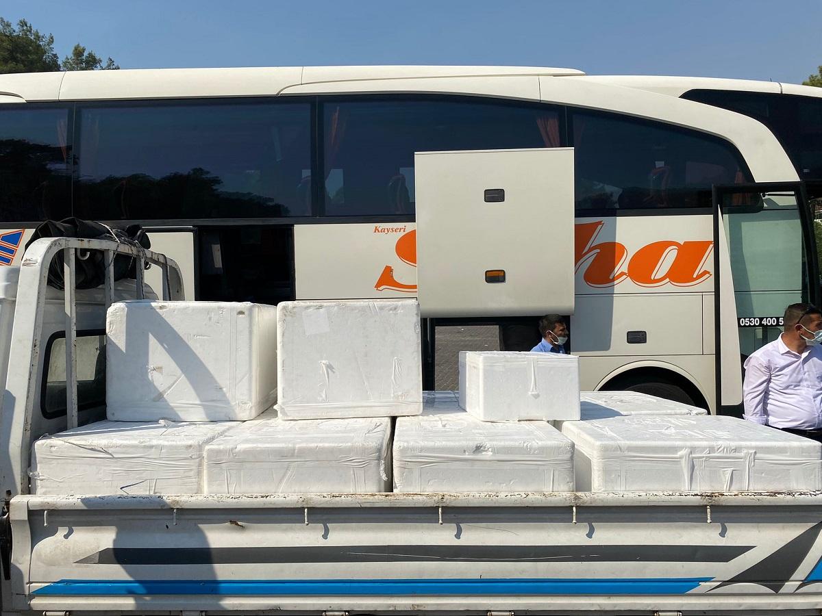 DOSABSİAD'dan afet bölgesine yardım desteği