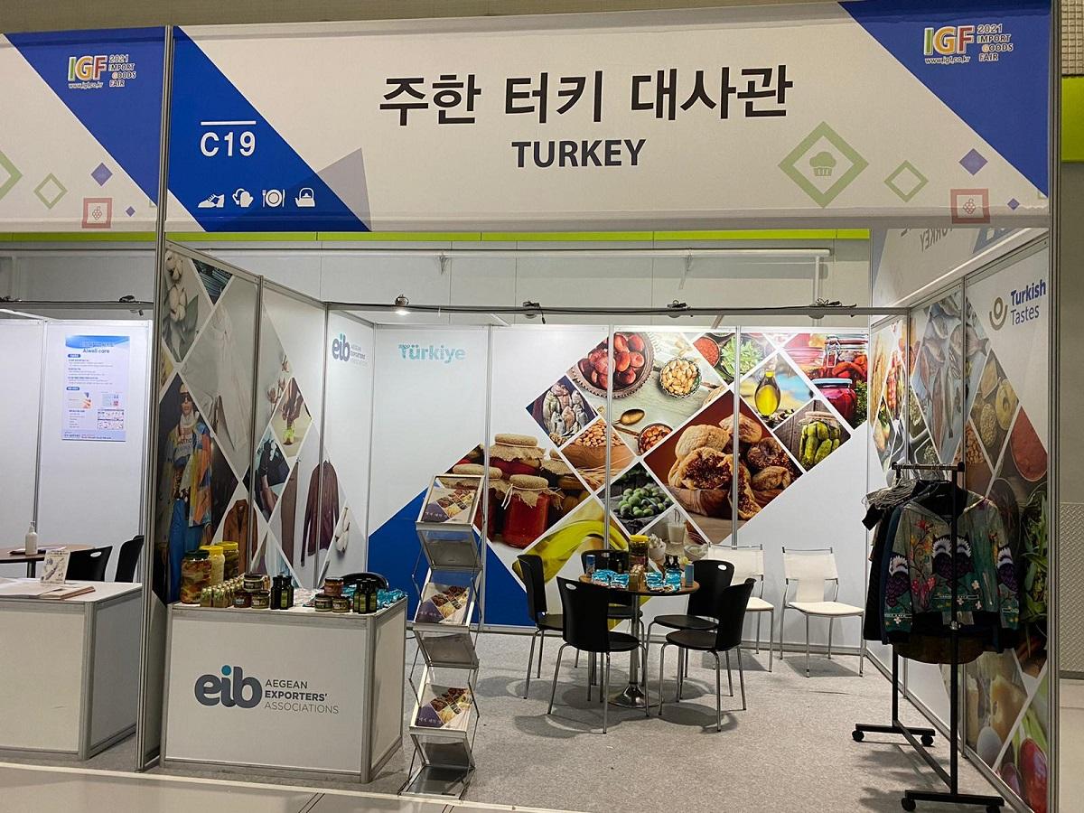 Ege ihracatçısı Güney Kore'yi sevdi