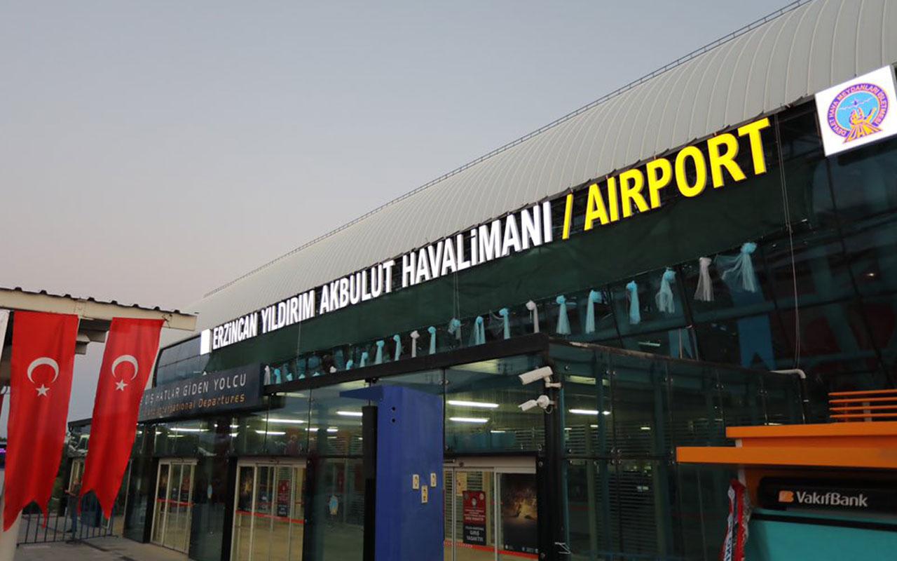 Erzincan Havalimanı'nda isim değişikliği