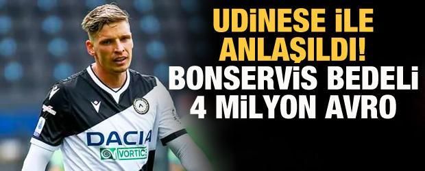 Galatasaray ve Udinese, Larsen için anlaşma sağladı