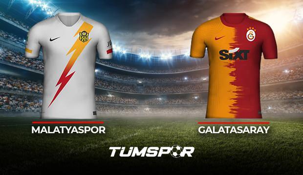 Galatasaray Yeni Malatyaspor maçı ne zaman saat kaçta hangi kanalda? GS Malatya maçı muhtemel 11'leri!