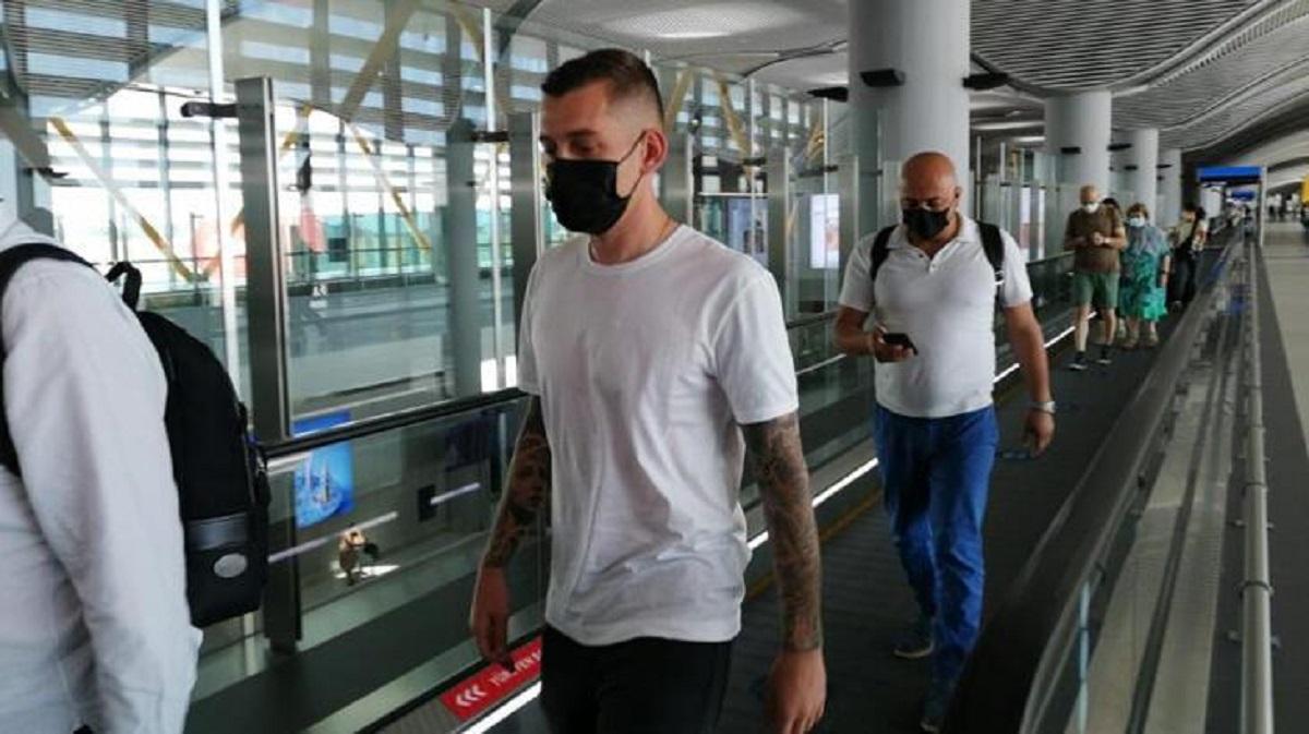 Galatasaray'ın yeni transferi Cicaldau, İstanbul'da