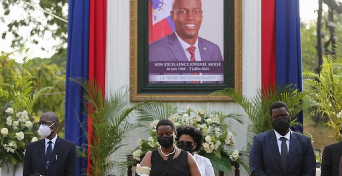 Haiti Devlet Başkanı'na veda