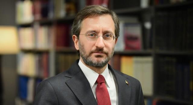 İletişim Başkanı'ndan Erdoğan'ın sesinden şiirli mesaj