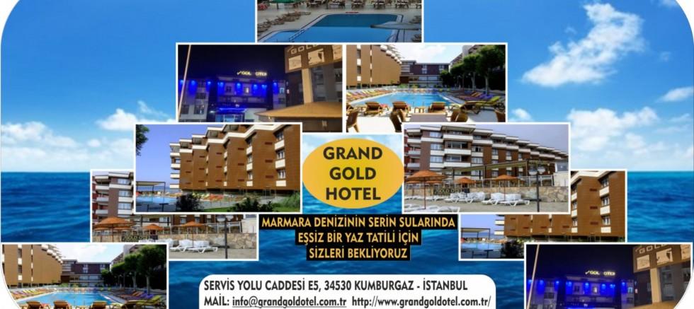 İstanbul'un Yanı Başında Şehir stresinden uzak,Grand Gold Hotel