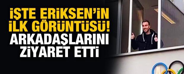 İşte Christian Eriksen'in ilk görüntüsü!