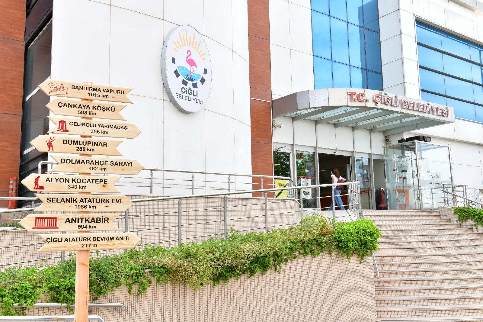 İzmir'de Çiğli Belediyesi'nin üç projesine hibe desteği