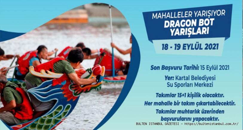 KARTAL'DA DRAGON BOT YARIŞLARI NEFES KESECEK