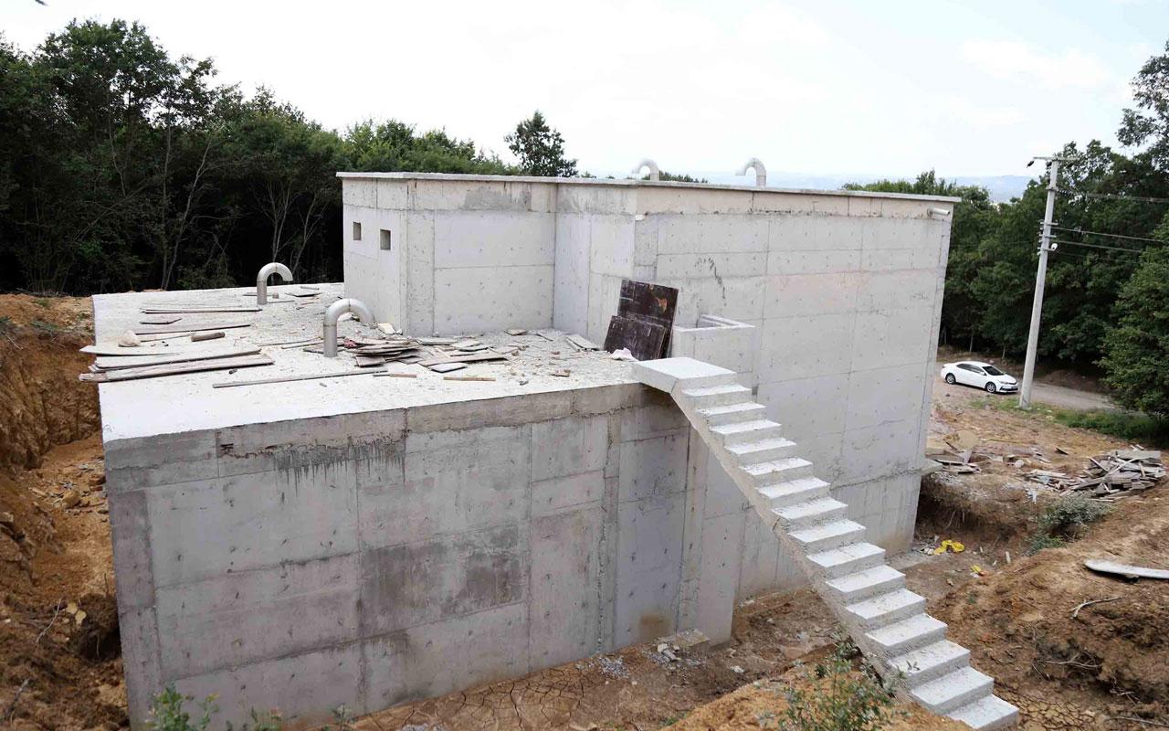 Kocaeli'de 59 adet içme suyu deposu inşa ediliyor