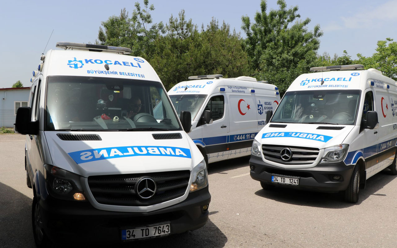Kocaeli'de 'Hasta Nakil'e bayramda da devam