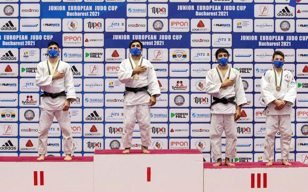 Kocaelili judocular Avrupa'da fırtına gibi esti