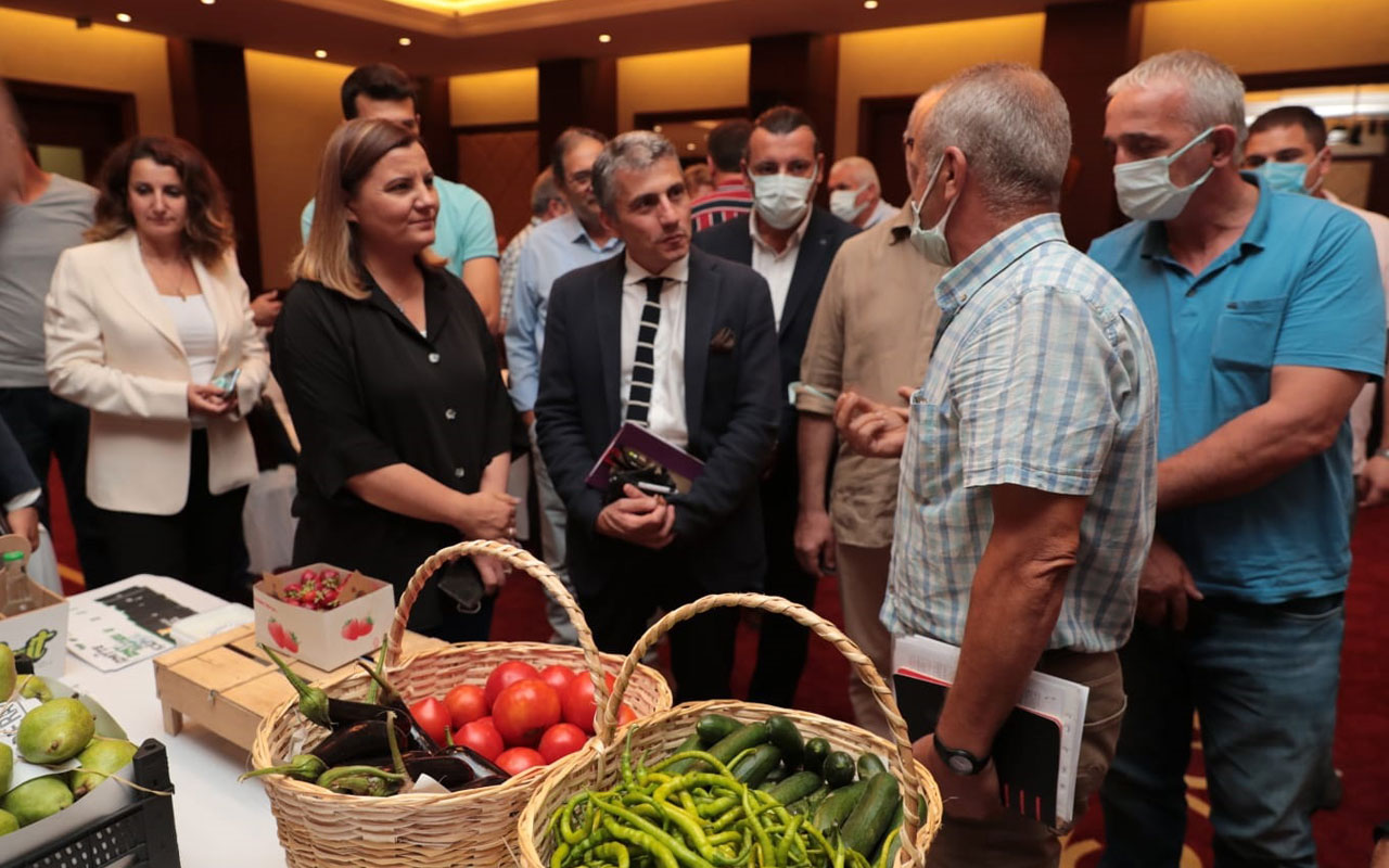 Kocaeli'nin yöresel üreticileri İstanbul'da pazar arıyor