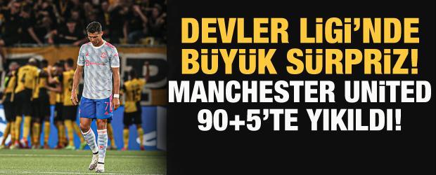 Manchester United 90+5'te yıkıldı!