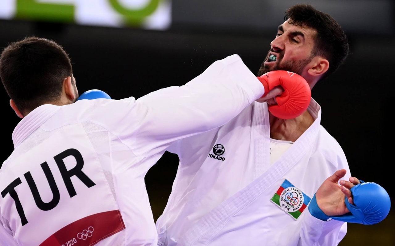 Milli karateci Eray Şamdan olimpiyat madalyasını garantiledi