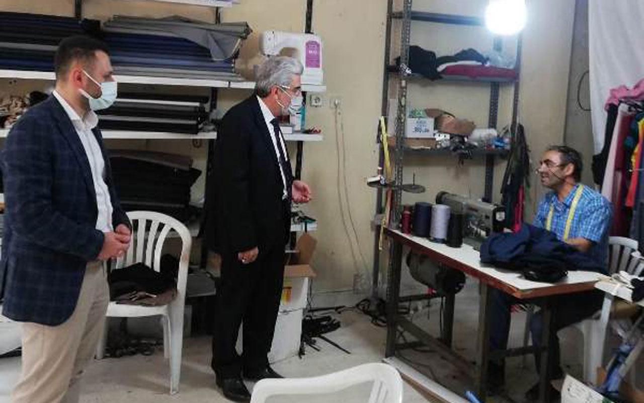 Saadet Partisi, Bursa Kestel'de esnafın nabzını tuttu