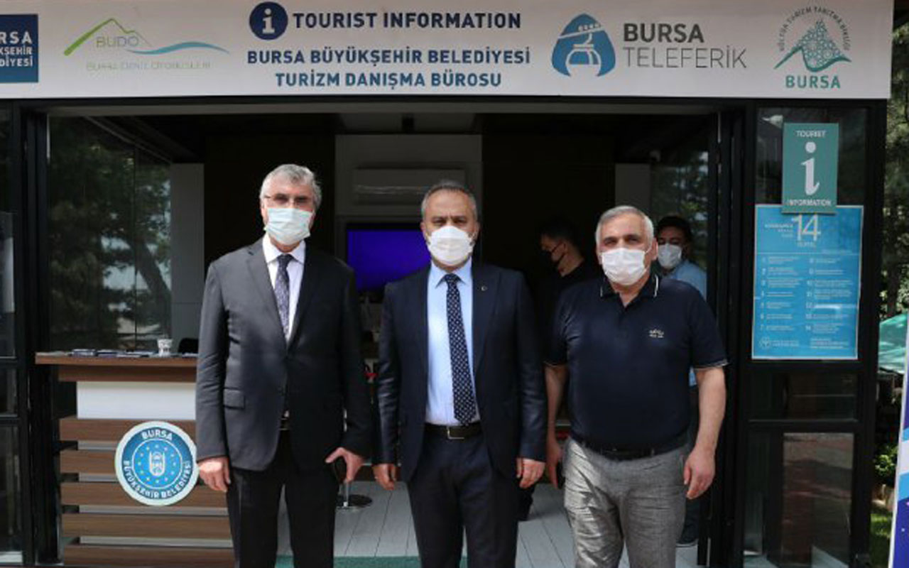 Sakarya, Bursa'dan istişare etti