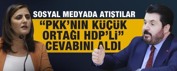 """Savcı Sayan'dan HDP'li Dilan Dirayet Taşdemir'e """"Kürt sorunu"""" cevabı"""