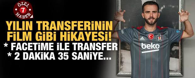 Sergen Yalçın 1 telefonla ikna etti! Pjanic'in film gibi transfer hikayesi!