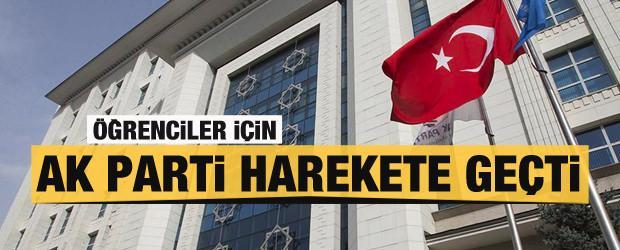 AK Parti öğrenciler için harekete geçti!