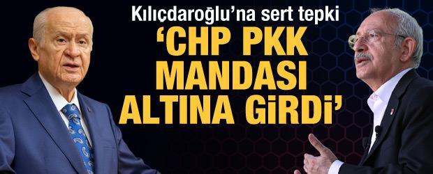 Bahçeli'den çok sert tepki: Kılıçdaroğlu HDP'nin girdabında boğulacaktır