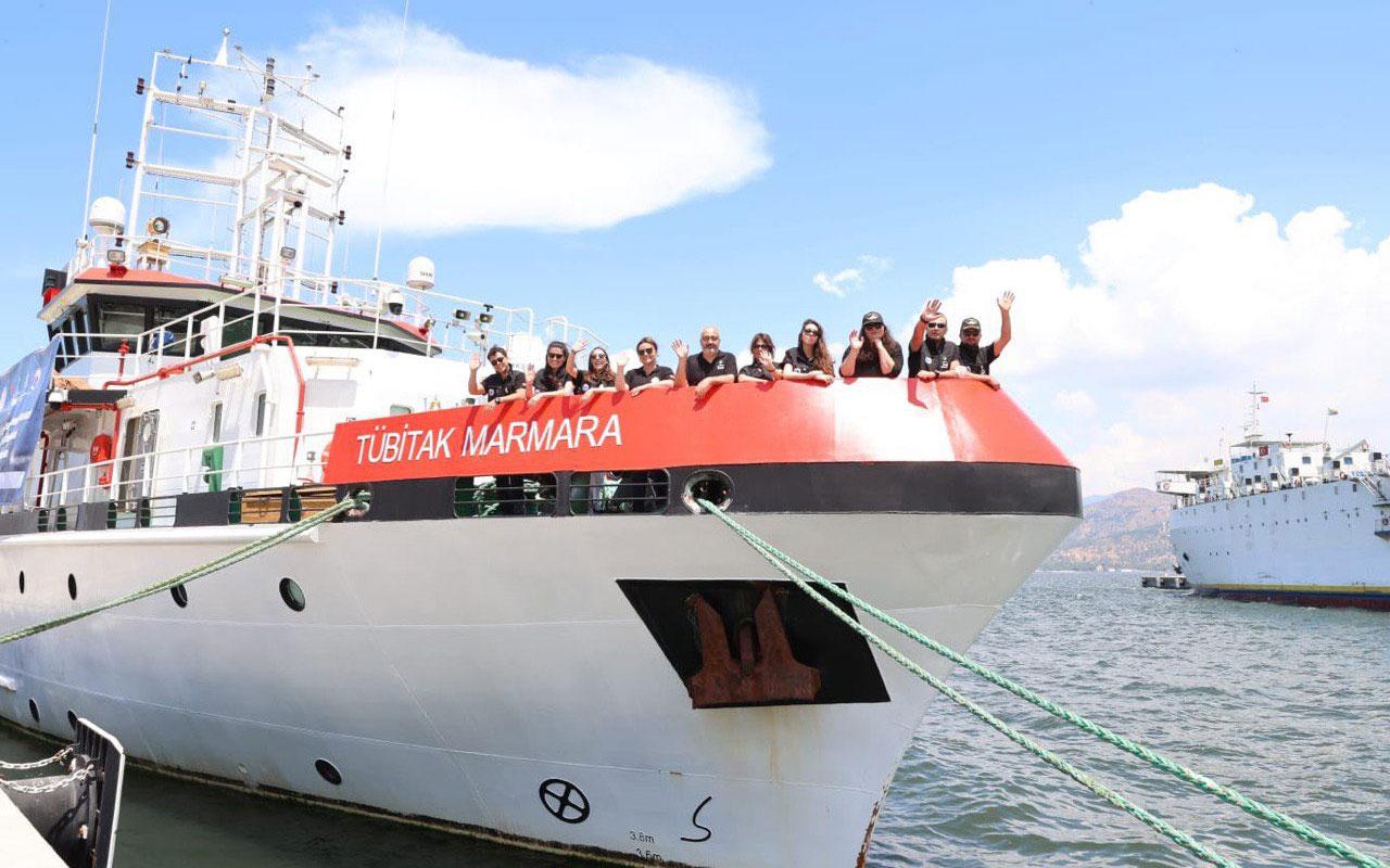 Marmara Gemisi ilk deniz araştırma seferinden döndü