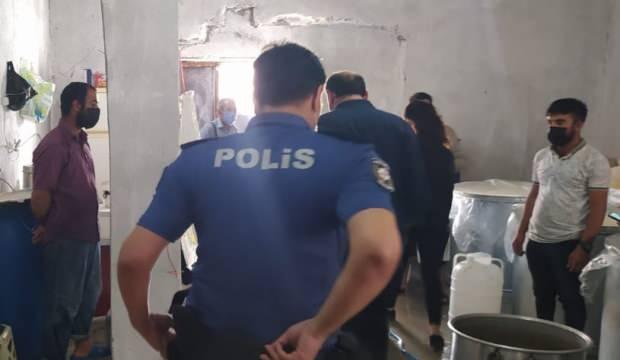 Varto'da yapılan denetimlerde iki mandıra mühürlendi