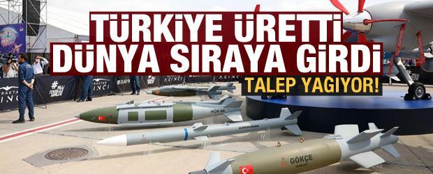 Talep yağıyor! Türkiye üretti, dünya sıraya girdi
