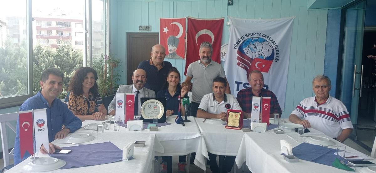 TSYD Bursa Şubesi Hatice Kübra İlgün'ü ağırladı